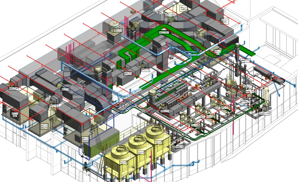 Draftech S Mechanical Services Bim Managers Team Delivery